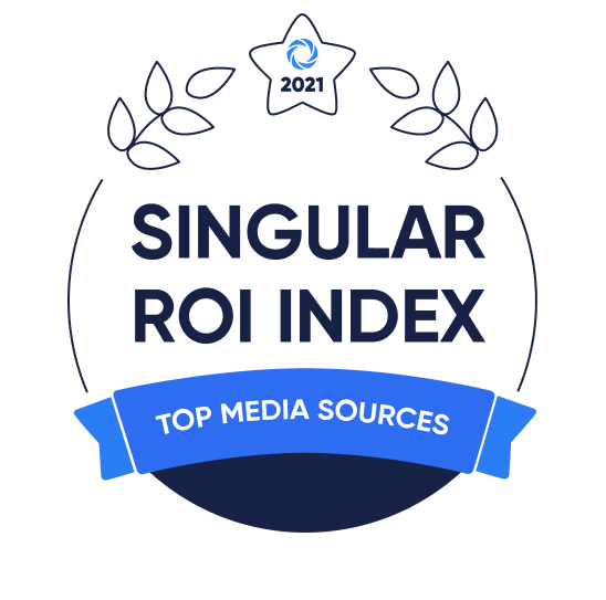 Singular ROI Index Badge